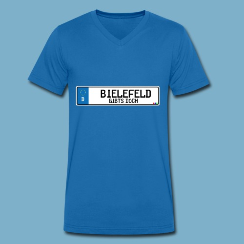 Bielefeld City Motiv Gibts doch - Männer Bio-T-Shirt mit V-Ausschnitt von Stanley & Stella
