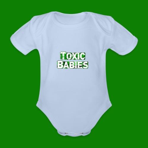 Body bébé Toxic Babies - Body bébé bio manches courtes