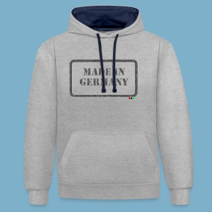Made in Germany  - Kontrast-Hoodie