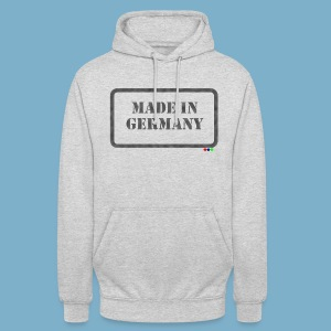 Made in Germany  - Unisex Hoodie