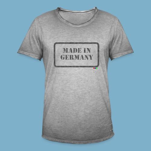 Made in Germany  - Männer Vintage T-Shirt