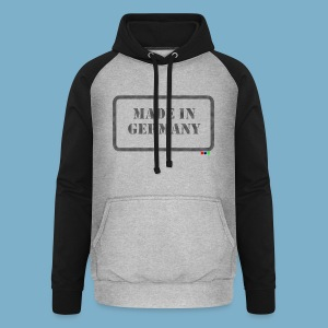 Made in Germany  - Unisex Baseball Hoodie