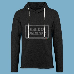 Made in Germany  - Leichtes Kapuzensweatshirt Unisex