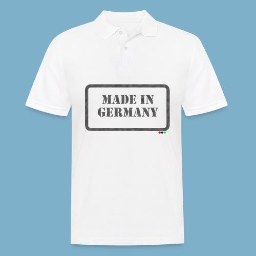 Made in Germany  - Männer Poloshirt