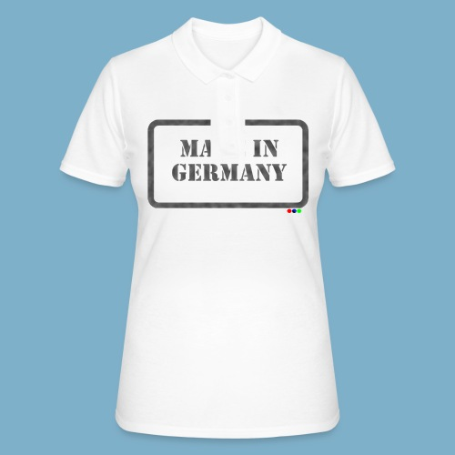 Made in Germany  - Frauen Polo Shirt