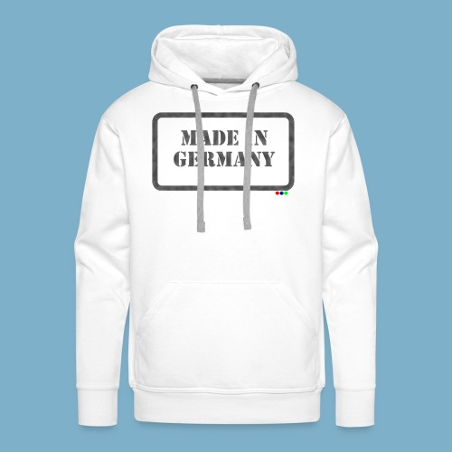 Made in Germany  - Männer Premium Hoodie