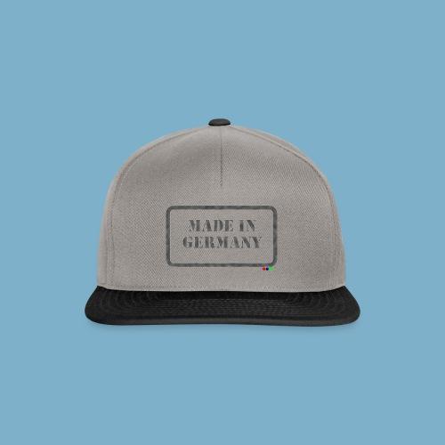 Made in Germany  - Snapback Cap