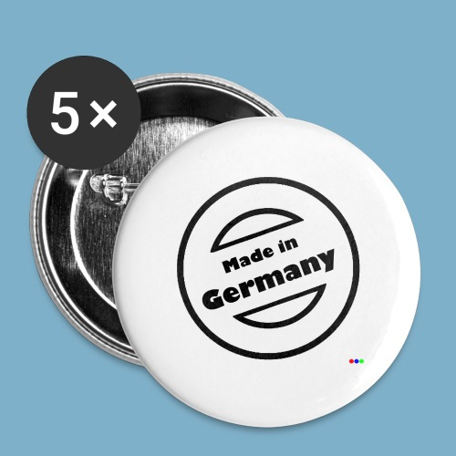 Made in Germany Motiv 2 - Buttons groß 56 mm