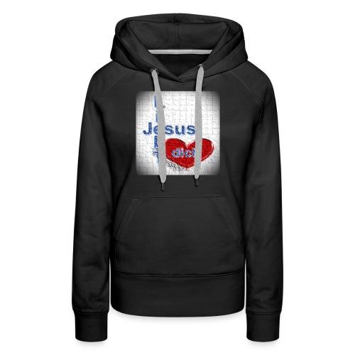 Shirt Jesus liebt dich - Frauen Premium Hoodie
