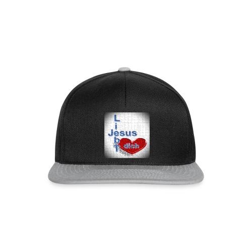 Shirt Jesus liebt dich - Snapback Cap
