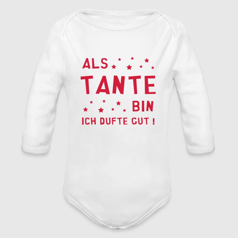 Patin / Tante / Patentante / Baby / Onkel / Uncle Baby Bodys - Baby Bio-Langarm-Body
