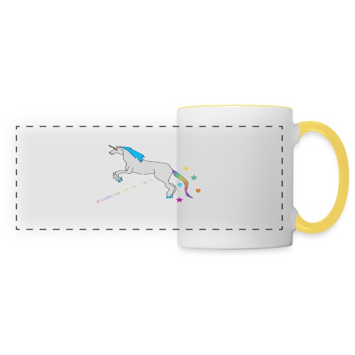 Bloodyjudge Unicorn Tasse - Panoramatasse