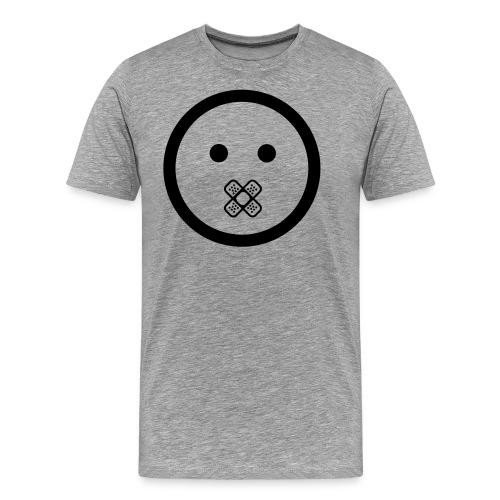 SHUT UP and glow in the dark - Männer Premium T-Shirt