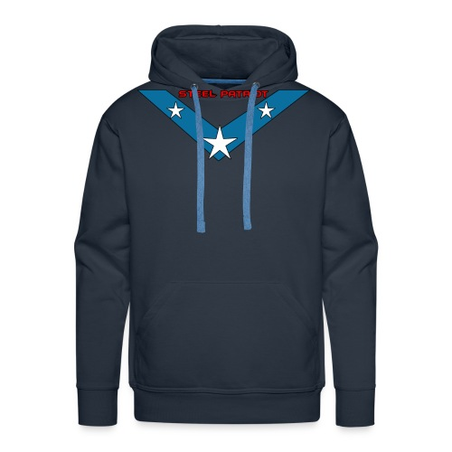 Steel Patriot logo - Sweat-shirt à capuche Premium pour hommes
