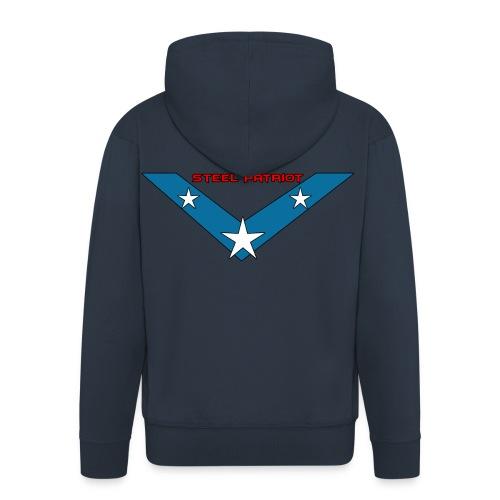 Steel Patriot logo - Veste à capuche Premium Homme