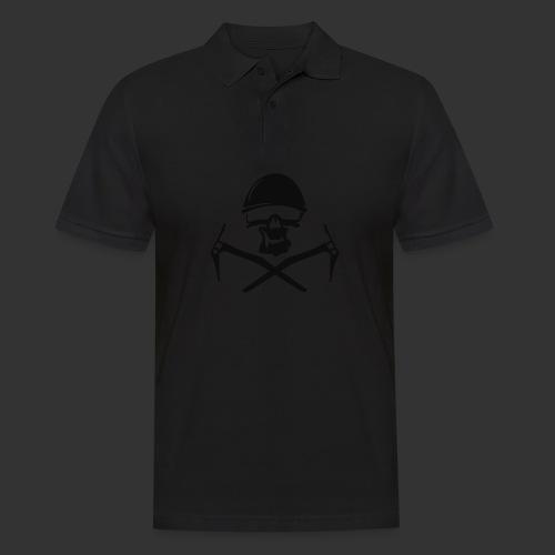 Climbing Skull - Männer Poloshirt