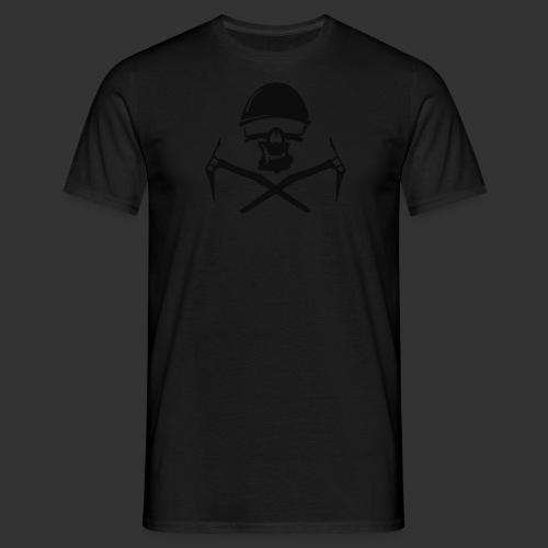 Climbing Skull - Männer T-Shirt