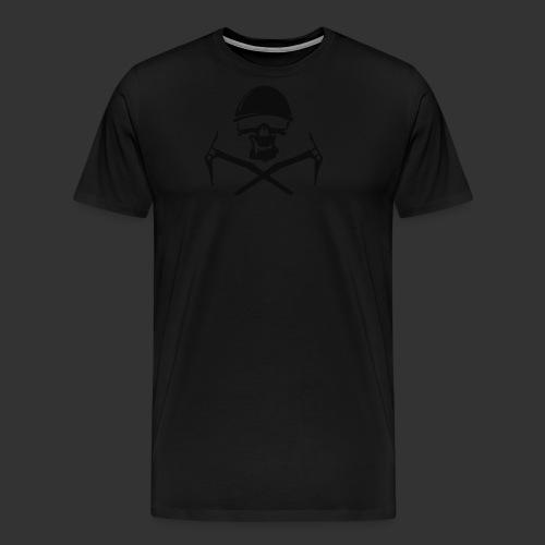 Climbing Skull - Männer Premium T-Shirt