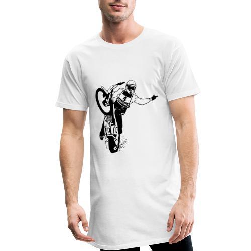 Motorcycle Speedway Racing - Camiseta urbana para hombre