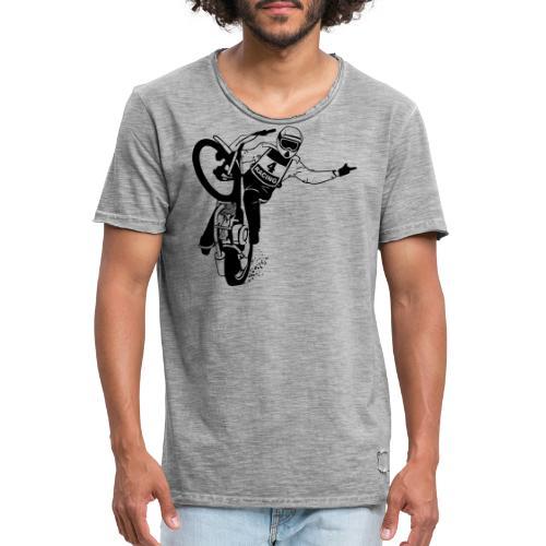 Motorcycle Speedway Racing - Camiseta vintage hombre