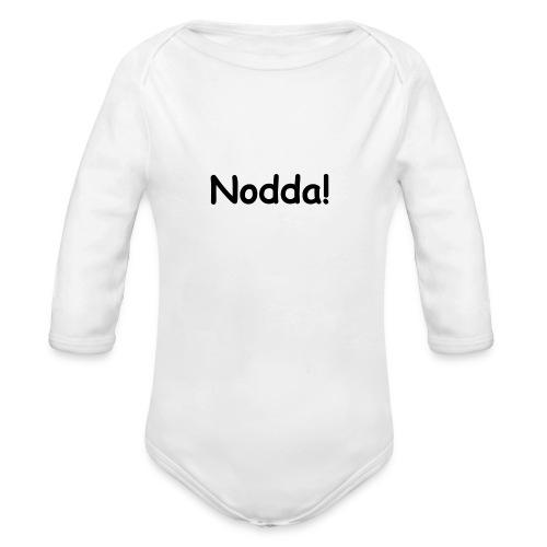 Das Nodda-Lätzchen - Baby Bio-Langarm-Body