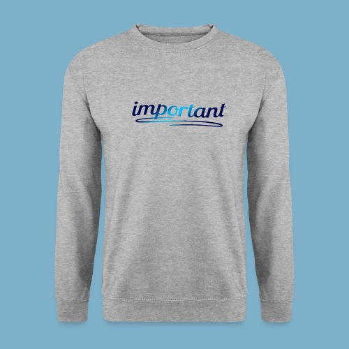important, sehr wichtige Person - Männer Pullover