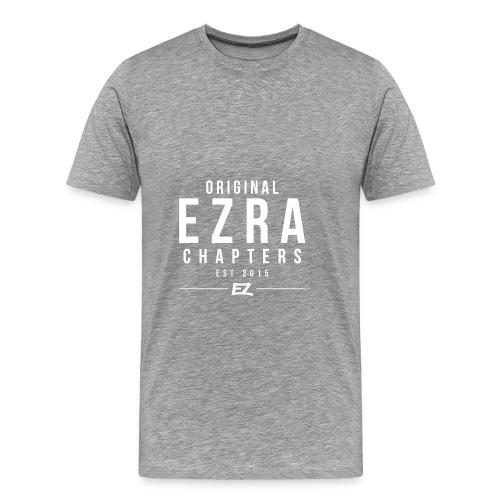 Ezra Hoodie Hipster -  Red - Men's Premium T-Shirt