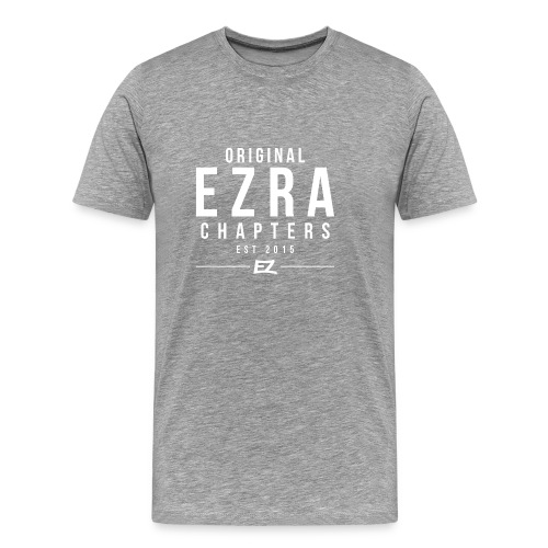 Ezra Hoodie Hipster -  Red - Men's Premium T-Shirt