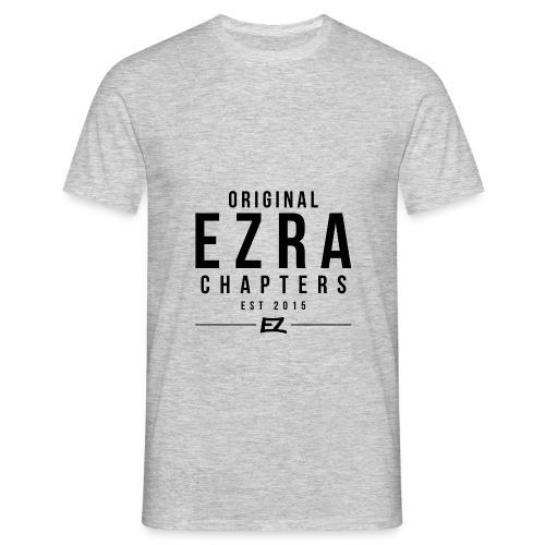 Ezra Hoodie Hipster -  Black - Men's T-Shirt