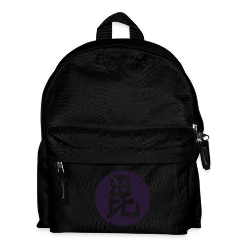 Uesugi Mon Japanese samurai clan in purple - Kids' Backpack