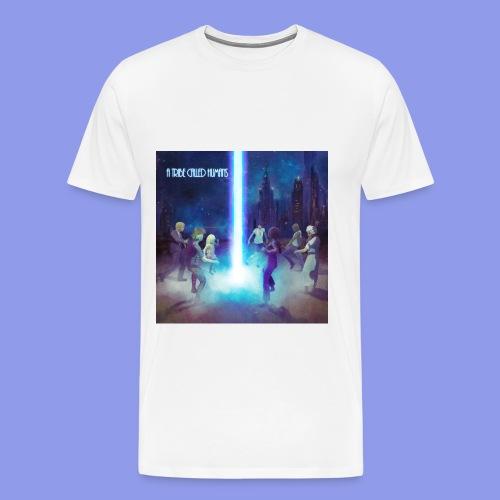 A Tribe Called Humans Cover T-Shirt atmungsaktiv - Männer Premium T-Shirt