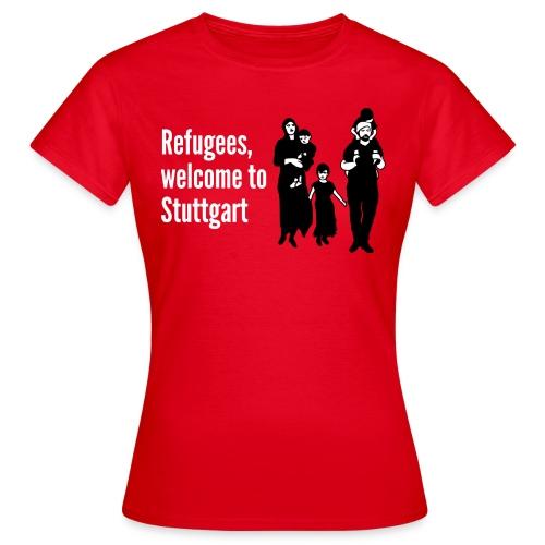 Refugees Shirt - Frauen T-Shirt