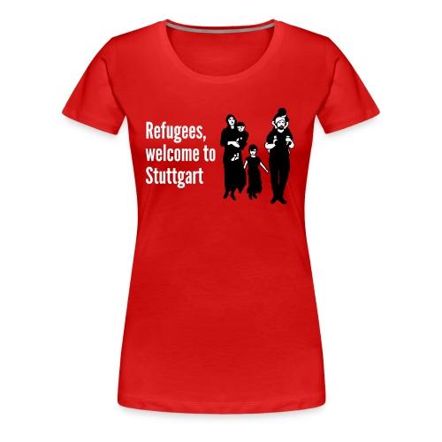 Refugees Shirt - Frauen Premium T-Shirt