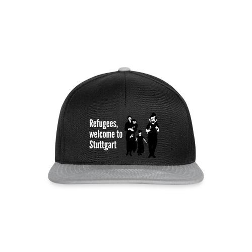 Refugees Shirt - Snapback Cap