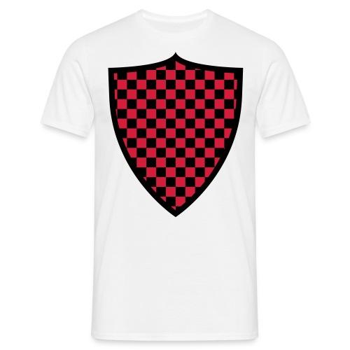 T Shirt 2 Farben Schild 2 - Männer T-Shirt