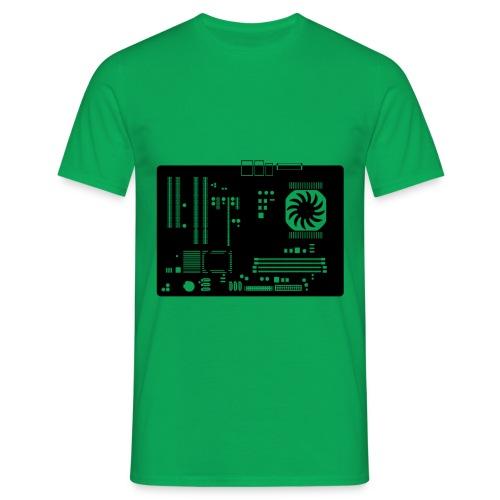 T Shirt Mainboard - Männer T-Shirt