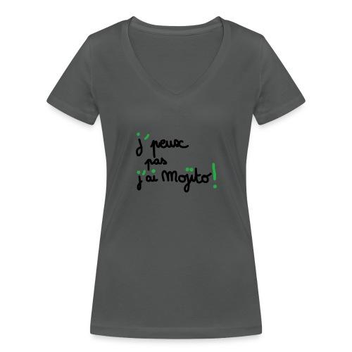 TShirt J'peux pas j'ai mojito ! - T-shirt bio col V Stanley & Stella Femme