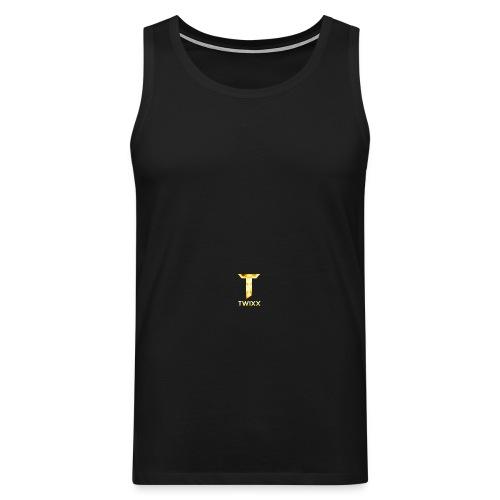 Snapback mit Logo - Männer Premium Tank Top