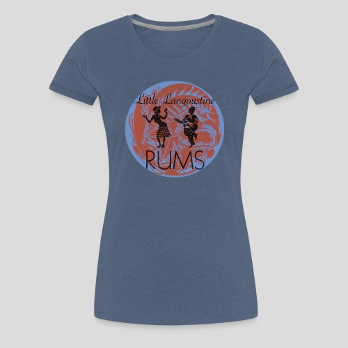 Top Rums Antique 1900 style - T-shirt Premium Femme