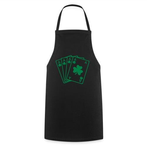 Camiseta green trevol - Delantal de cocina