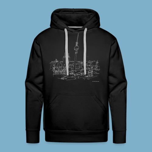 City Motic Berlin Zeichnung - Männer Premium Hoodie