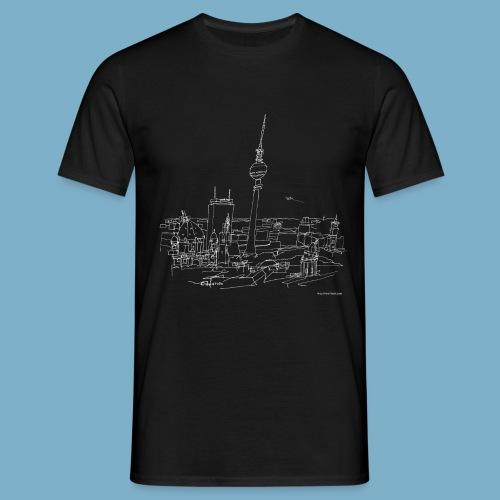 City Motic Berlin Zeichnung - Männer T-Shirt