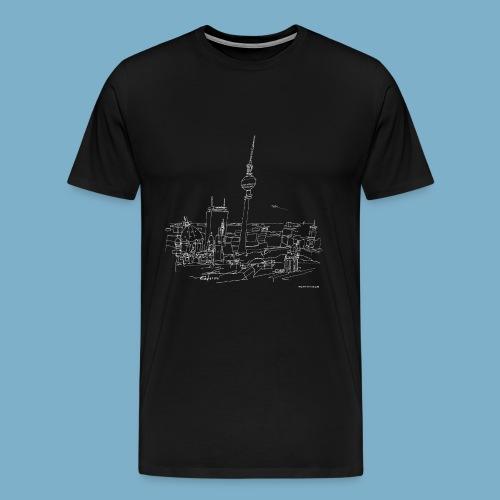 City Motic Berlin Zeichnung - Männer Premium T-Shirt