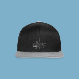 City Motic Berlin Zeichnung - Snapback Cap
