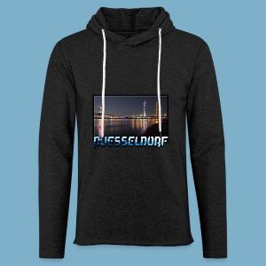City Motiv Düsseldorf - Leichtes Kapuzensweatshirt Unisex