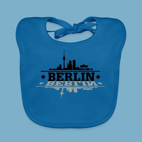 City Motiv Berlin Skyline - Baby Bio-Lätzchen