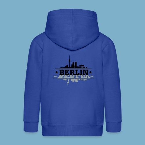 City Motiv Berlin Skyline - Kinder Premium Kapuzenjacke