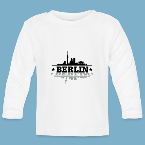 City Motiv Berlin Skyline - Baby Langarmshirt