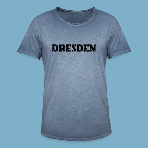 City Motiv Dresden - Männer Vintage T-Shirt