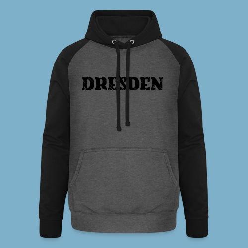 City Motiv Dresden - Unisex Baseball Hoodie
